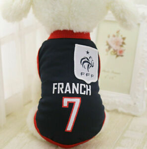 M NavyBlue Summer Pets Clothes Vest Coat T Shirt Jacket Clothing For Dogs Cats