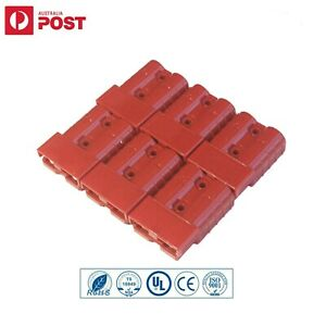 6x Connectors Anderson Style Plug DC Power 50AMP Solar Caravan 6AWG RED