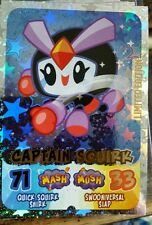 MOSHI MONSTERS MASH UP MOSHLING MADNESS LIMITED EDITION CARD CAPTAIN SQUIRK