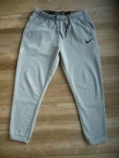 Nike señores pantalones deportivos-sweatpants-caballeros-jogger - gris claro-Talla L