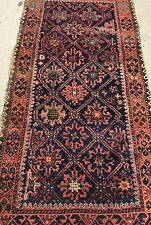 An Antique Blue Background Color Baluch Tribal Rug