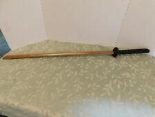 "NEW WOOD KATANA 39"" PRACTICE SWORD ----- GREAT TO PRACTICE WITH--NICE FINISH"