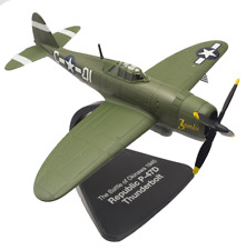 "Atlas / Oxford 1/72 2nd Guerre Mondiale USAAF Republic P47d Thunderbolt "" Zombie"