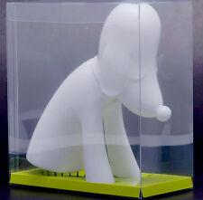 New! Yoshitomo Nara Aomori Dog Soft Vinyl Coin Bank White Ver. Aomoriken Japan