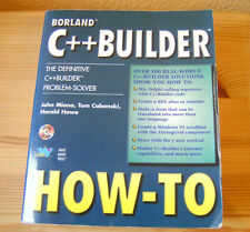 John Miano, .., .: Borland C++ Builder How-To ohne/without CDROM ISBN 157169109X