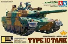 Tamiya 25173 1/35 Model Kit JGSDF Type 10 w/Tank School Masking & PE Parts
