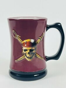 Disney Pirates of the Caribbean Theme Park Mug / Cup. Ceramic Coffee / Beer Cup