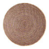 Chesterfield Farmhouse Hand Woven Reversible Braided Round Jute Area Rug,