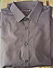"Black Burton Formal Shirt Size XL - Chest 44""-47"" All labels & Spare Buttons"