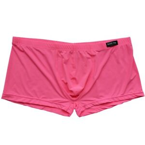 Men Breathable Boxer Briefs Pouch Underwear Smooth Shorts Trunks Underpants