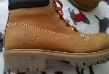 Pod Boys Walnut Yellow/Honey Leather Lace-up Boots EU SIZE 31 UK 13