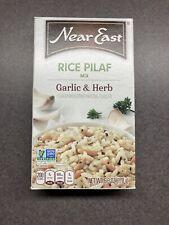 Near East 9 pk of 6.3 oz garlic & Herb Rice Pilaf Mix - Exp 1/28/21