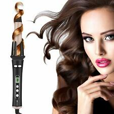 Ocaliss Professional Electric Ceramic Curling Iron 1 inch Hair Curler Wave Wand