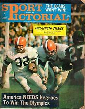 1964 Sport Pictorial Football Magazine, Jimmy Brown, Cleveland Browns ~ FAIR