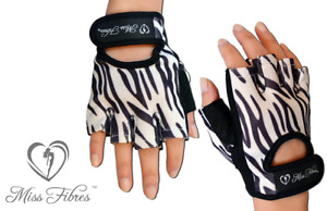 PREMIUM WOMEN GYM WORKOUT GLOVES WEIGHT LIFTING FITNESS