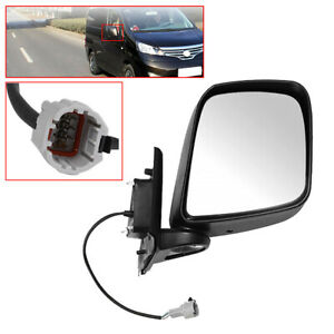 Wing Front Right Side Electric Door Mirror Rearview Fit for Nissan NV200 2010-16