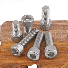 Hex Socket Allen Screw Cylindrical Head Screws Stainless Steel Bolts 6#-32