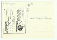 Radio Norway - LLG-3 QSL card 1977,