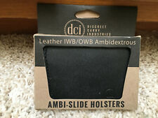 DCI Discreet Carry Industries Leather Ambi-Slide Holster, Ambidextrous