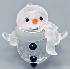 Swarovski Snowman - Winter Decor - #7475 000 605 - New with Original Box and COA