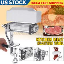 Meat Tenderizer Cuber Cast Iron Flank Steak Kitchen Machine Flatten Tool Clamp