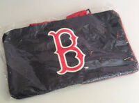 """Vintage Boston Red Sox Duffle Gym Bag Blue & Red Stop & Shop NEW OLD STOCK 17"""""""