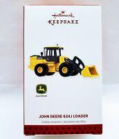 Hallmark Keepsake 2013 Ornament John Deere 624J Loader