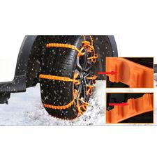 10pcs Anti-skid Tire Chains for Car Sedan SUV Snow Winter Emergency Driving