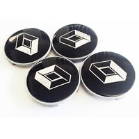 4 Trafic Centre Caps to fit BMW X5 Alloy Wheels 65mm Center Hole 68mm Outer Bore