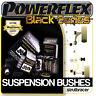 fits Subaru Forester SG (02-08) POWERFLEX BLACK SERIES MOTORSPORT RACE BUSHES
