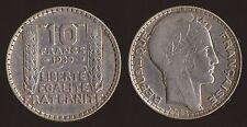 FRANCIA FRANCE 10 FRANCS 1930 ARGENTO/SILVER