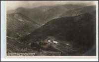 AK Schwarzwald ~1925 Panorama Blick Zastlerhütte Hütte