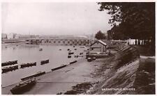 Barnstaple Bridge unused RP old pc WHS Kingsway