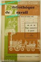 BT Bibliothèque de Travail n° 439 bis la REVOLUTION Française à 1870 le passé 59