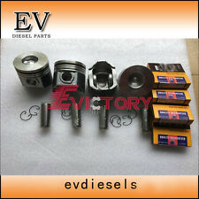 V2003T V2003 piston ring + full gasket + bearing + piston rebuild kit