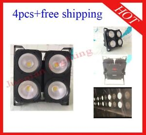 400W White And Warm White Led DJ Stage Effect Blinder Light 4pcs Free Shipping