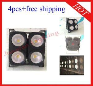 400W White And Warm White Led DJ Stage Effect Blinder Light 4pcs Free Shipping