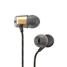 House of Marley Uplift 2.0 Noise isolating In Ear Headphones / Earphones- Brass