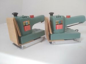 Set Of 2 Powermite Tools Sanders Ideal Toys New Old Stock NOS from a sealed Case