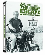 THE GREAT ESCAPE Blu-ray Steelbook UK Exclusive (Region Free)