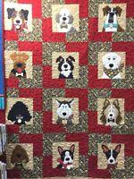 Dog Beautiful Faces Group  Quilt blanket Fleece BLANKET