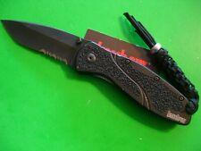 """NTSA KERSHAW USA """"BLUR"""" 4 1/2"""" CLOSED LINER LOCK POCKET KNIFE #1670 BLKST"""