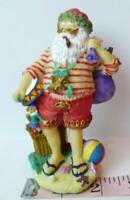 "Aussie Santa Claus  Australia 1997 Vintage 4 1/2"" tall Figurine Decoration"