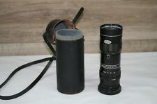 Vintage Yashinon-R Zoom Lens f/5.8 90mm-190mm with case