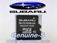 OEM 2016 2017 Subaru Forester /Touring STI WRX Navigation Micro SD Card Map U.S.