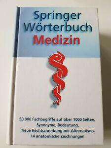 Springer Wörterbuch Medizin, gebunden!
