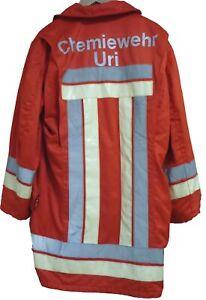 Einsatzjacke Chemiewehr Uri (Schweiz) Gr. 50/52