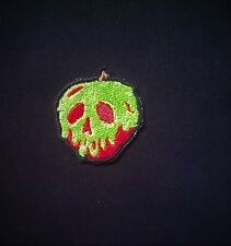 "Disney Snow White  Inspired ""Just One Bite"" Poison Apple Patch SMALL"