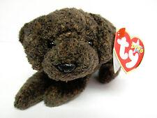 "Ty Beanie Baby -RARE ""Fetcher"" Chocolate Labrador PRISTINE Brand New w/Mint Tags"