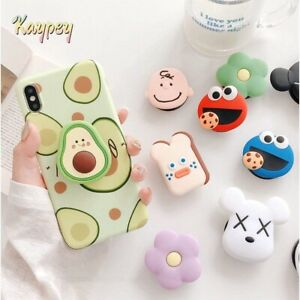 ON SELL Mobile Holder Grip Stand Phone / Selfie  Free Protect Cable Charge